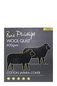 BAS PHILLIPS 600GSM Wool Quilt QB