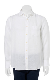WEST CAPE CLASSIC PURE LINEN PLAIN SHIRT