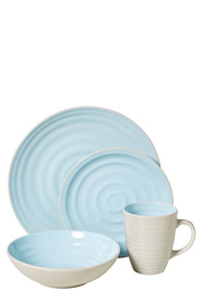 MIKASA GIA DINNER SET BLUE 16PC
