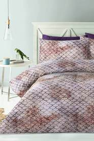 BIG SLEEP Ari 180 Thread Count Microfibre Quilt Cover Set KB