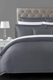 ELYSIAN Claridge Jacquard Quilt Cover Set QueenBed