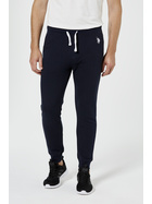 US POLO ASSN Mens Logo Cuffed Trackpant