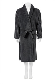 BRONSON MENS TWISTED FLEECE GOWN