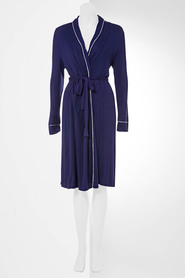 SVVW CONTRAST PIPPING TRIM GOWN VR1694