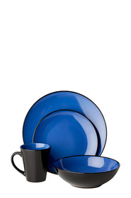 SOREN Mikado 16 Piece Dinner Set Blue