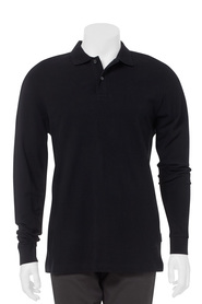 BRONSON LONG SLEEVE PIQUE POLO