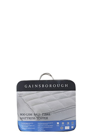 GAINSBOROUGH 800gsm Ball Fibre Mattress Topper QueenBed