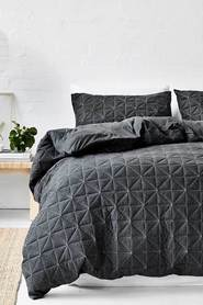 GAINSBOROUGH Pender Quilted Cotton Jersey Quilt Cover Set KB
