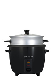SMITH & NOBEL 5 Cup Black Rice Cooker