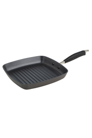 SMITH & NOBEL Professional Hard Anodised Grillpan 26Cm