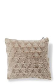 JASON Triangle Faux Fur Cushion 43x43cm