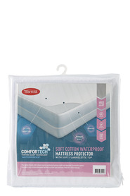 TONTINE Comfortech Soft Cotton Waterproof Mattress Protector QB