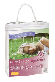 PROTECT-A-BED PILLOW PROT COTTN OPULENCE