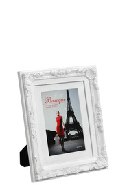 LIFESTYLE BRANDS Baroque 6X8inch White Photo Frame
