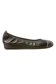 DF SUPERSOFT Novia Leather Toe Cap Ballet