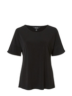 SIMPLY VERA VERA WANG Ruffle Sleeve Jersey Top