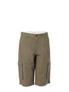 JC LANYON Mens Ribstop Cotton 3/4 Cargo Short