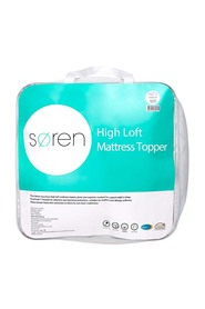 SOREN High Loft Mattress Topper Queen Bed