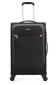 COURIER Tailwind 82cm 4WD Trolley Case Black