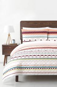 SOREN Nelly Cotton Quilted Quilt Cover Set QB