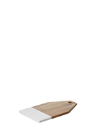 SMITH & NOBEL Wood And Marble Rectangle Board 34 x 20x 1.5cm