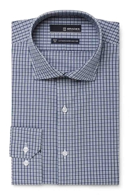 BRACKS INDIGO CHECK SHIRT