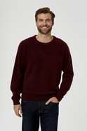 SMEATON LAMBSWOOL BLEND CREW NECK KNIT