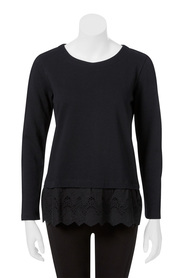 KHOKO COLLECTION Rachel Broderie Sweater