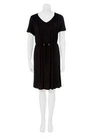KHOKO COLLECTION Jersey Dress With Drawcord