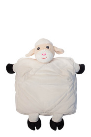 GO GO KIDS PILLOW SHEEP