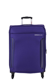 SWISS EQUIP Dubrovnik 61cm Trolley Case Purple