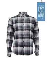BRONSON Long Sleeve Flannelette Yarn Dye Shirt