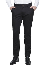 VAN HEUSEN BLACK SATEEN CHINO