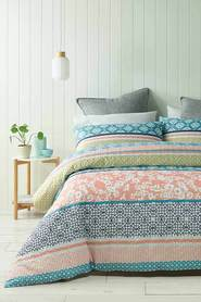 PHASE 2 Hillier Quilted Quilt Cover Set Queen Bed