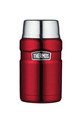 THERMOS King Stainless Steel Red Food Jar 710ml