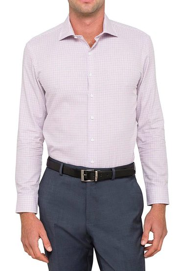 VAN HEUSEN Slim Fit Multi Check Shirt | Tuggl