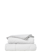 Plain Dyed Flannelette Sheet Set Queen Bed