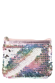 IS GIFT Reversible Sequin Coin Purse - Pearlescent