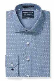 VAN HEUSEN Euro Fit Dobby Stripe Shirt