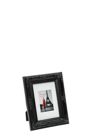 LIFESTYLE BRANDS Baroque 4X6inch Black Photo Frame