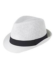 DENTS Woven Trilby Hat
