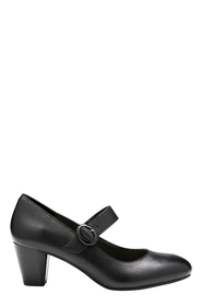 HUSH PUPPIES BREA LEATHER MARY JANE HEEL