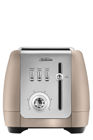 SUNBEAM London 2 Slice Toaster Champagne