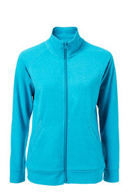 DIADORA Womens Zip Thru Fleece Jacket