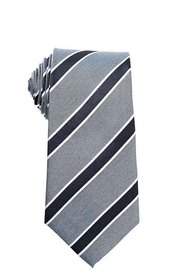 HARRIS 1849 Silk Blend Stripe Teal Tie