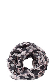KHOKO POLY SCARF TRAILING LEAVES SW007