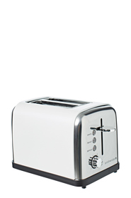 SMITH & NOBEL 2 Slice Toaster Pearl White