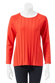SAVANNAH Maureen Texture Jumper