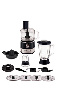 SMITH & NOBEL Food Processor Black Finish