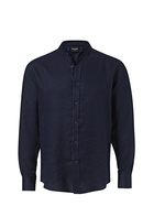 BRONSON BASIC Mens Broome Long Sleeve Linen Shirt